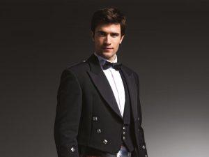 Chaplins Formal Hire Highland Black Tie