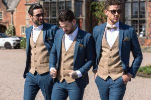 Marc Darcy Tweed Wedding Suit Chaplins Leek